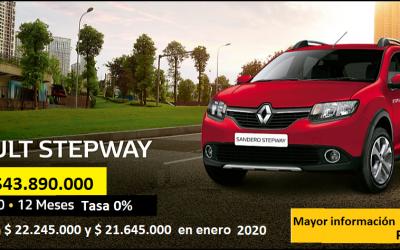 Plan especial 50/50 Renault Stepway